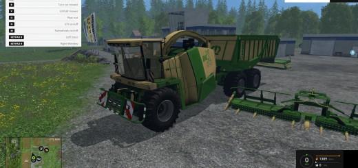 Krone Big x-650 cargo